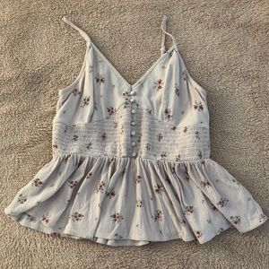 floral tank top from American Eagle